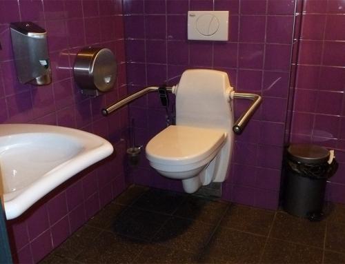 Vorstelijk aangepast invalidentoilet Hotel Mijdrecht Marickenland